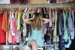 ゆとりのある服を選ぶ