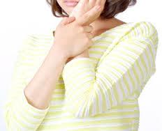脇の刺激を与えないという事を重視する女性
